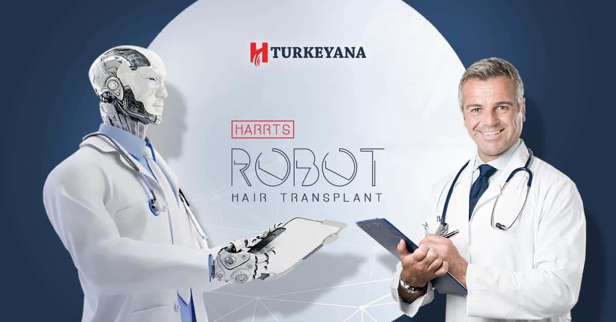 Robot technique for hair transplantation